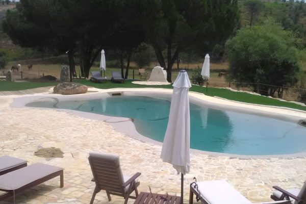 holiday homes with saltwater pool Portugal