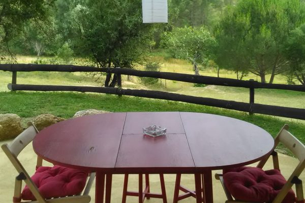 holiday house Portugal wobbel apartment view from kitchen