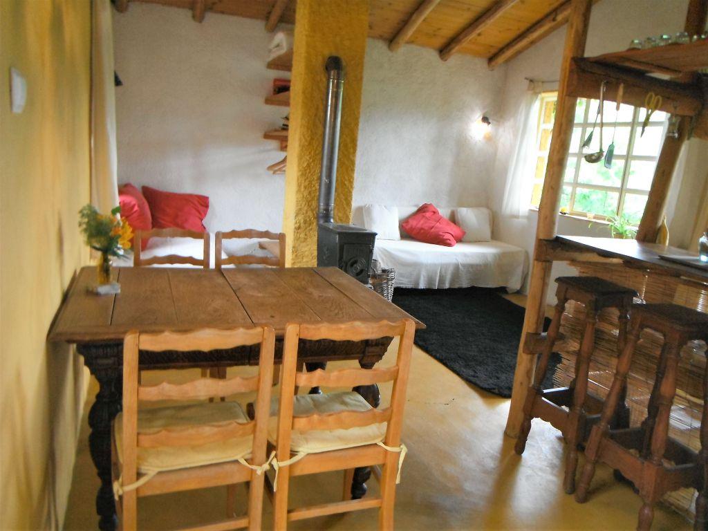 Vakantiehuisje Alegria in Portugal woonkamer