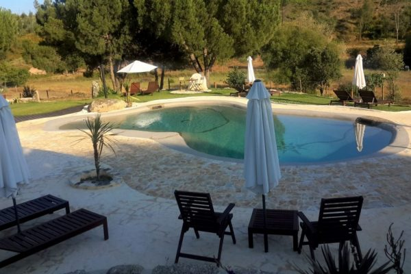 piscina agua salgada Quinta da Alegria Portugal Biodesign