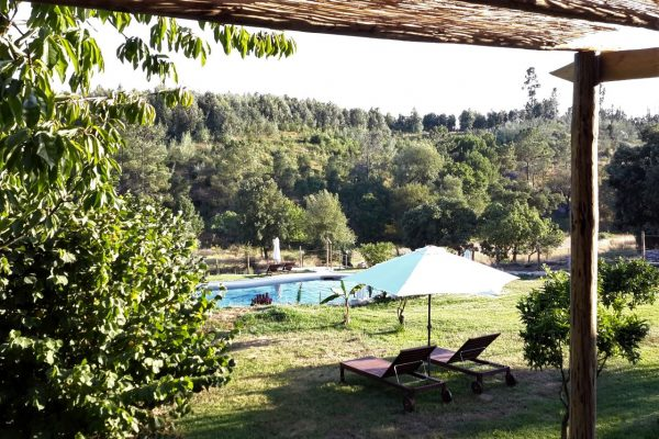 Holiday accommodation Portugal private garden