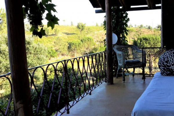 casas de férias Portugal casa Alegria terraço