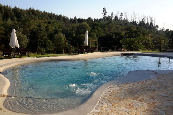 Salt water Swimming pool jacuzzi Portugal Biodesign